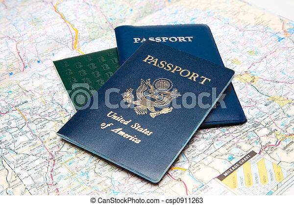 viaggiare, pianificazione - csp0911263