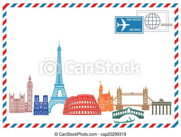 viaggiare, scrivere - csp20299319