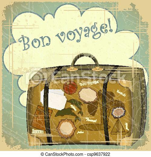 viaggiare, valigia - csp9637922