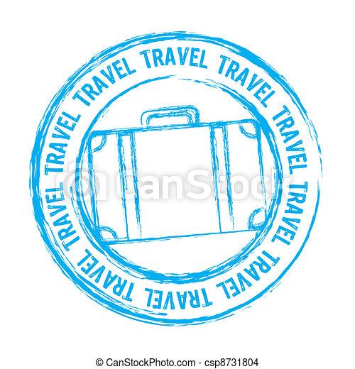viaggiare, vettore - csp8731804