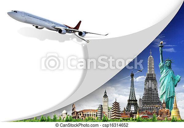 viaggio mondo - csp16314652