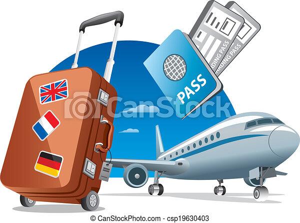 viaje, aire - csp19630403