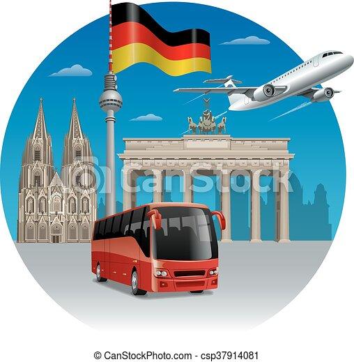 Viajar en Alemania - csp37914081
