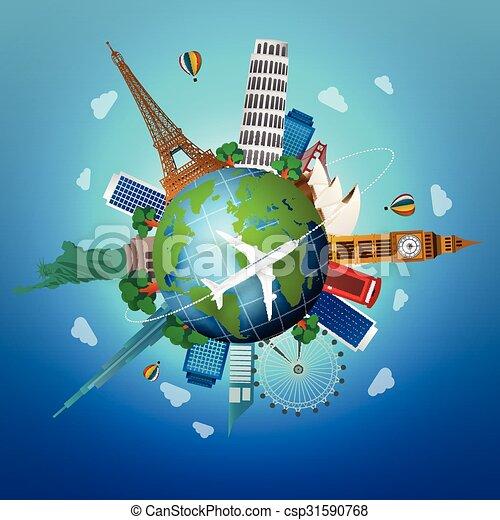 El concepto de viaje - csp31590768