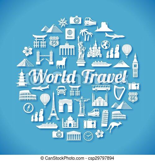 Diseño de viajes - csp29797894