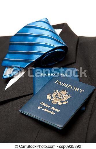 Viaje de negocios - csp0935392