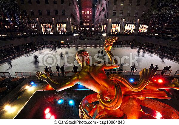 viaje, -, fotos, york, nuevo, manhattan - csp10084843