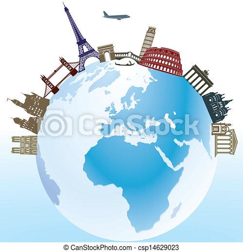 Viajes y puntos de referencia - csp14629023