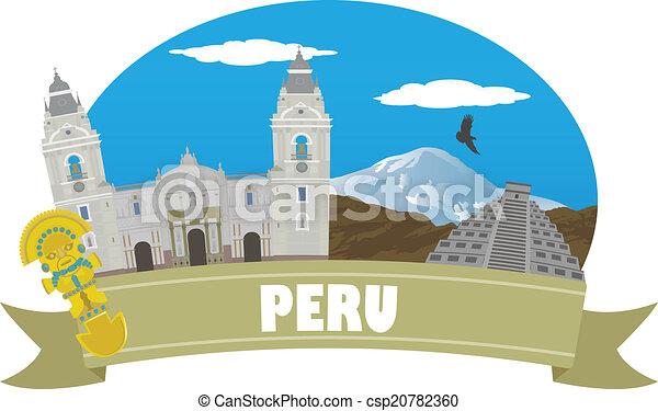 Perú. Turismo y viajes - csp20782360