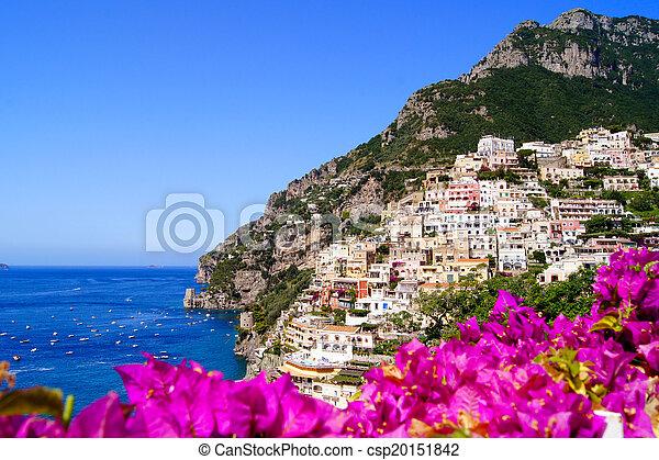 vibrant, amalfi côte - csp20151842