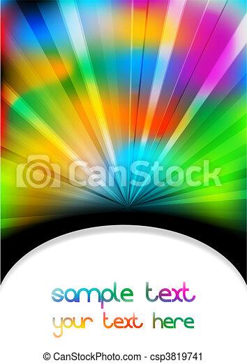 vibrant, -, eps, fond, 10 - csp3819741