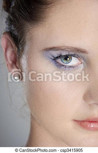 Vibrant eye - csp3415905