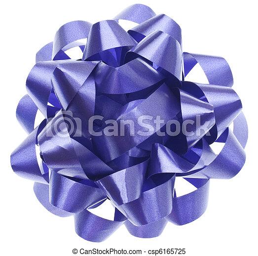 Vibrant Purple Gift Bow - csp6165725