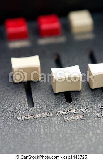 Vibrato Slider Detail - csp1448725