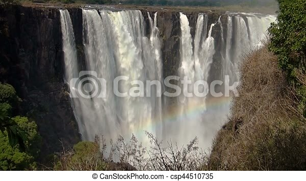 Victoria Falls Zimbabwe Africa Wilderness Landscape