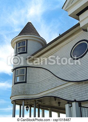 Victorian Beach Home - csp1018487