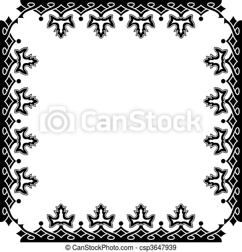 victorian frame against white background abstract art stock rh canstockphoto com round victorian frame vector