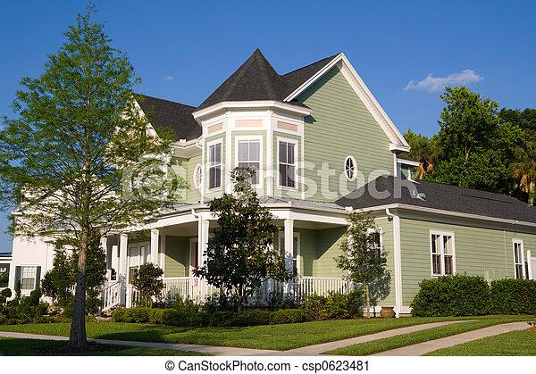 Victorian Home - csp0623481