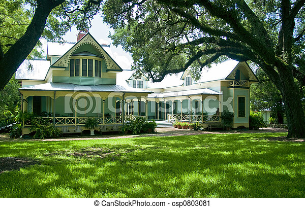 victorian home - csp0803081
