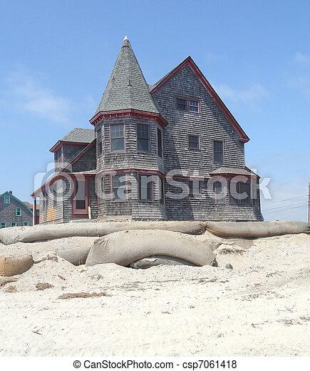 Victorian home. - csp7061418