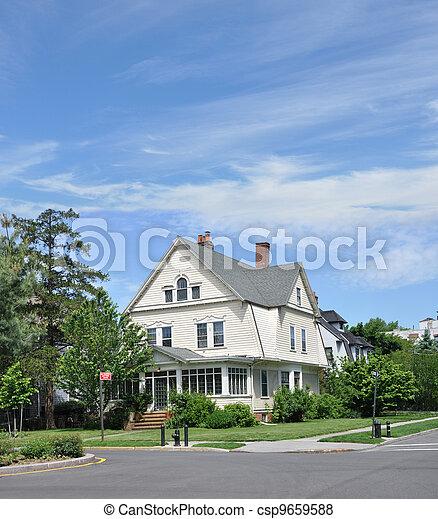 Victorian Home - csp9659588