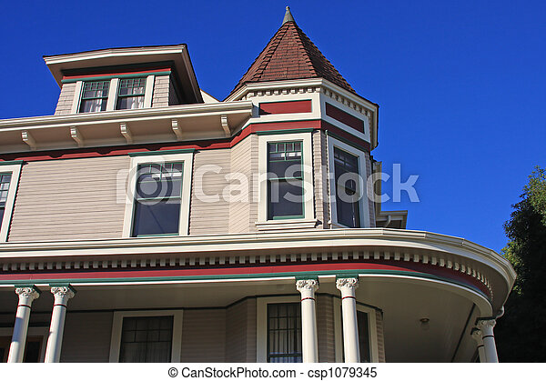 Victorian Home - csp1079345