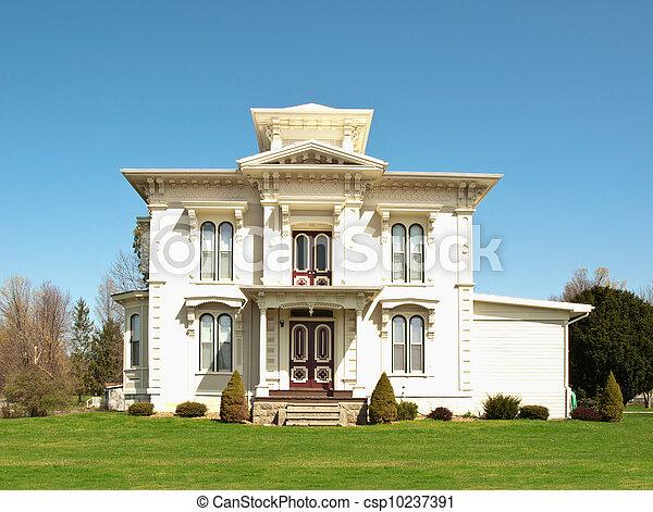 victorian home - csp10237391