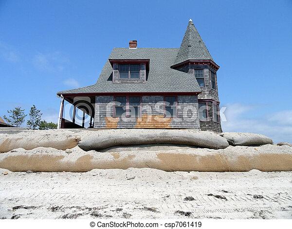 Victorian home. - csp7061419