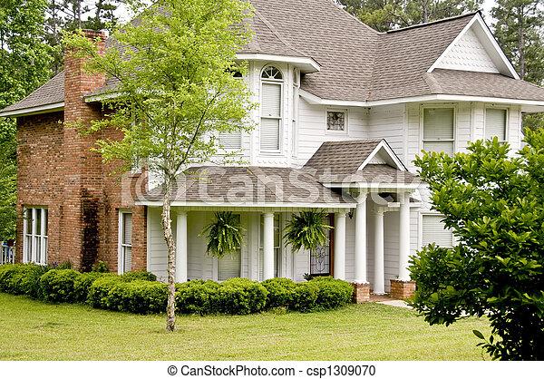 Victorian Home - csp1309070