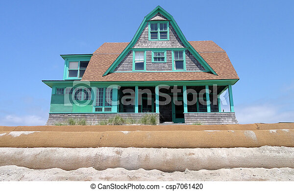 Victorian home. - csp7061420
