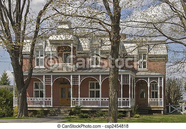 victorian house - csp2454818