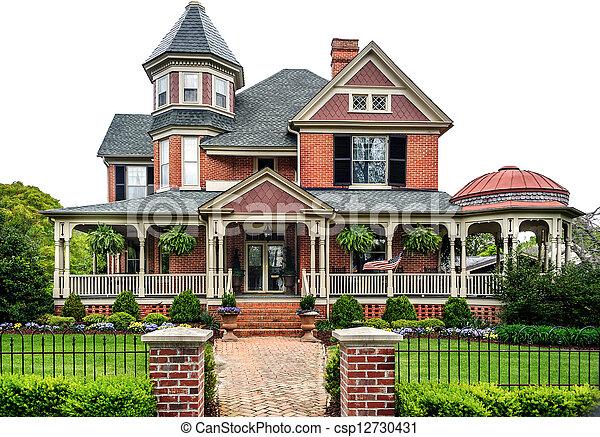 Victorian House - csp12730431