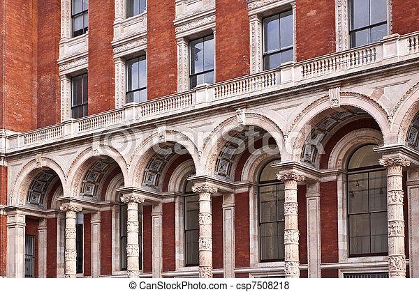 Victorian style building - csp7508218