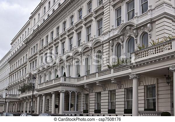 Victorian style building - csp7508176