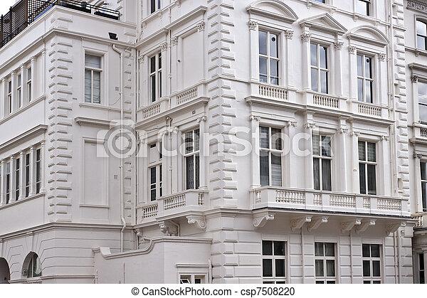 Victorian style building - csp7508220