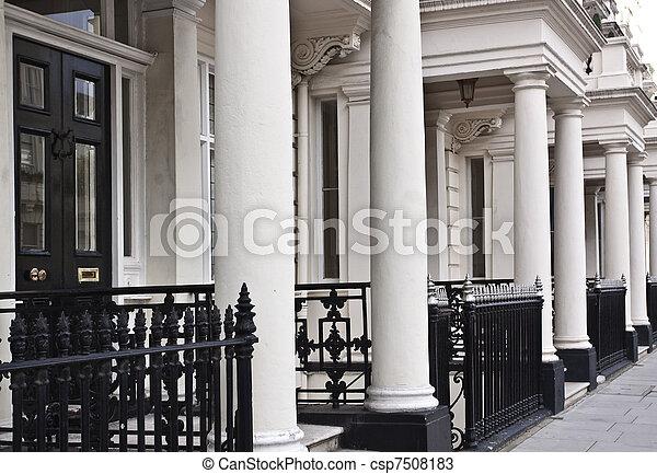 Victorian style building - csp7508183