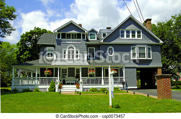 Victorian Style Home - csp0073457