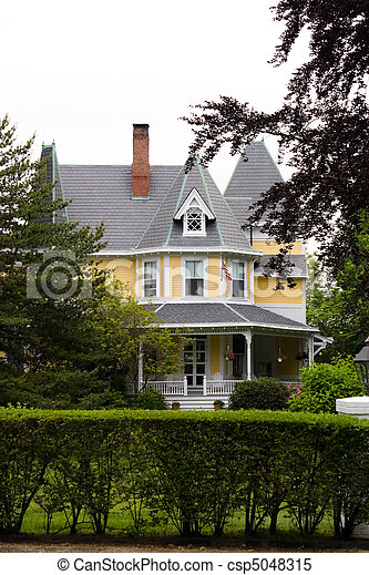 Victorian Style Home - csp5048315