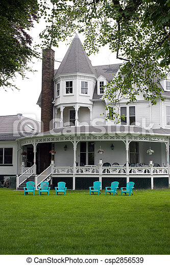 Victorian Style Home - csp2856539