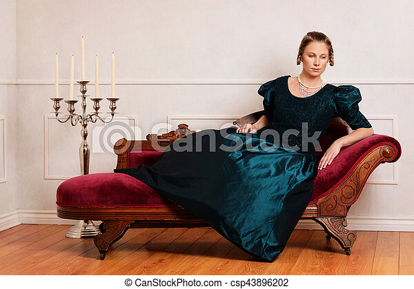 Portrait of victorian woman on fainting couch. on victorian rocking chair, victorian folding chair, victorian credenza, victorian urns, victorian club chair, victorian tables, victorian wheelchair, victorian country, victorian chaise furniture, victorian loveseat, victorian mother's day, victorian chaise lounge, victorian chest, victorian sideboard, victorian recliner, victorian candles, victorian era chaise, victorian nursing chair, victorian office chair, victorian couch,