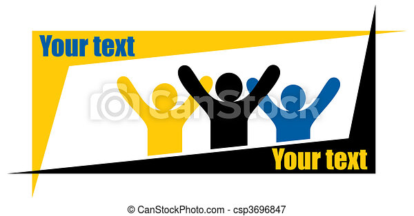 victory people - csp3696847