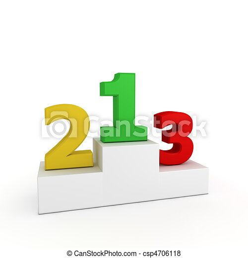 victory podium coloured numbers 1  2  3 numbers 1  2  3 Numbers in Circles Clip Art Black and White Number 2