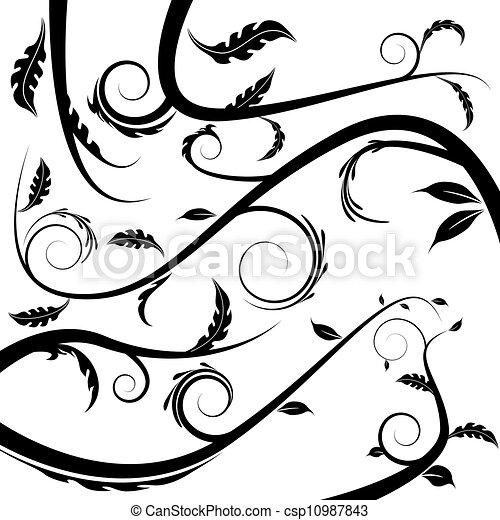 Viña floral - csp10987843