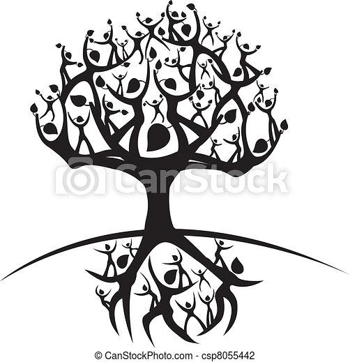 Vida árbol Ilustración