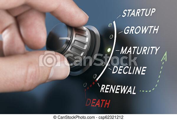 vida, conceito, negócio, ciclo - csp62321212