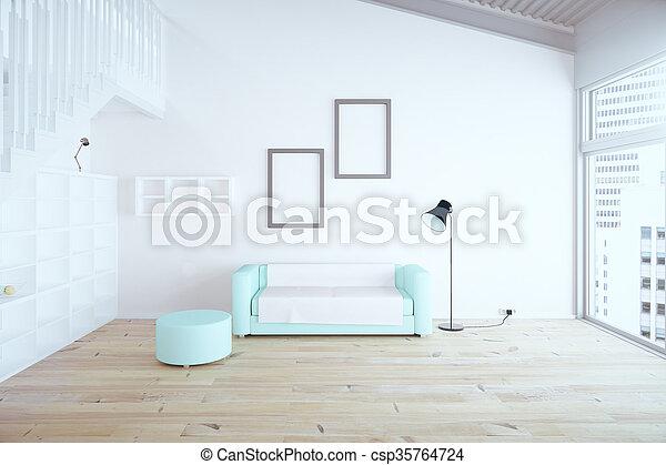 Diseño de salón - csp35764724