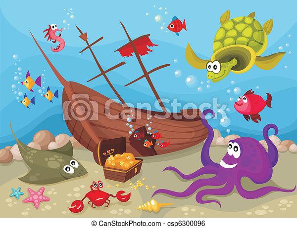 Vida marina - csp6300096