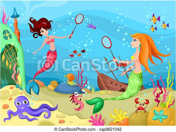 Vida marina - csp9621042