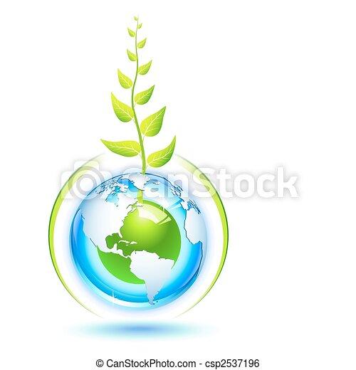 Tierra viviente - csp2537196