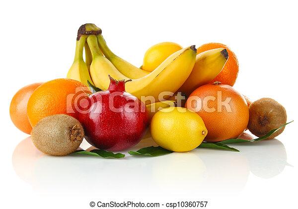 La vida sigue siendo frutilla - csp10360757